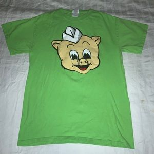 🤑 3/$20. I Am Big On The Pig Tee T-Shirt Sz S